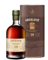 Aberlour 18 Years Old Whisky 43% 0,5L