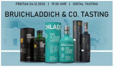 Bruichladdich und Co. Online-Tasting am 04.12.2020