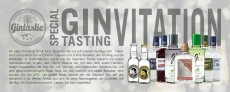 Special Gin Tasting am 04.10.2019