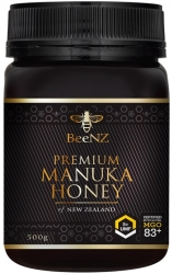 BeeNZ MANUKA HONIG UMF5+ 500 g MGO 83+ mg/kg