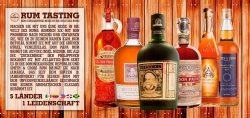 Rum Tasting am 06.09.2018