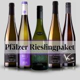 Pfälzer Riesling Probepaket 5 x 0,75L - 10% Rabatt