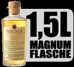 Sibona La Grappa di Barolo 40% 1,5L