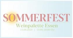 Sommerfest der WeinPalette Essen am 15.08.2020