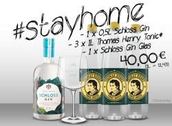 Schloss Gin + Thomas Henry #stayhome Paket